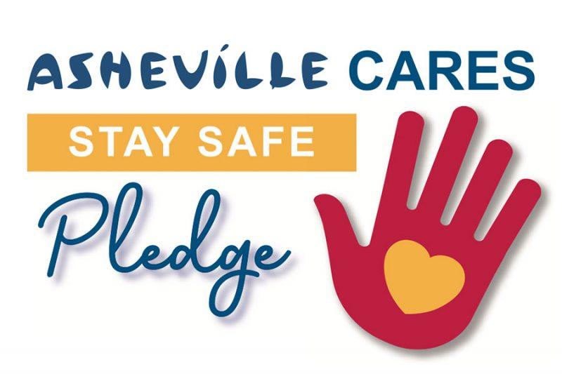 Asheville Cares Pledge Graphic